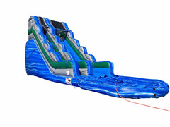 18 Foot Blur Crush Water Slide Wet